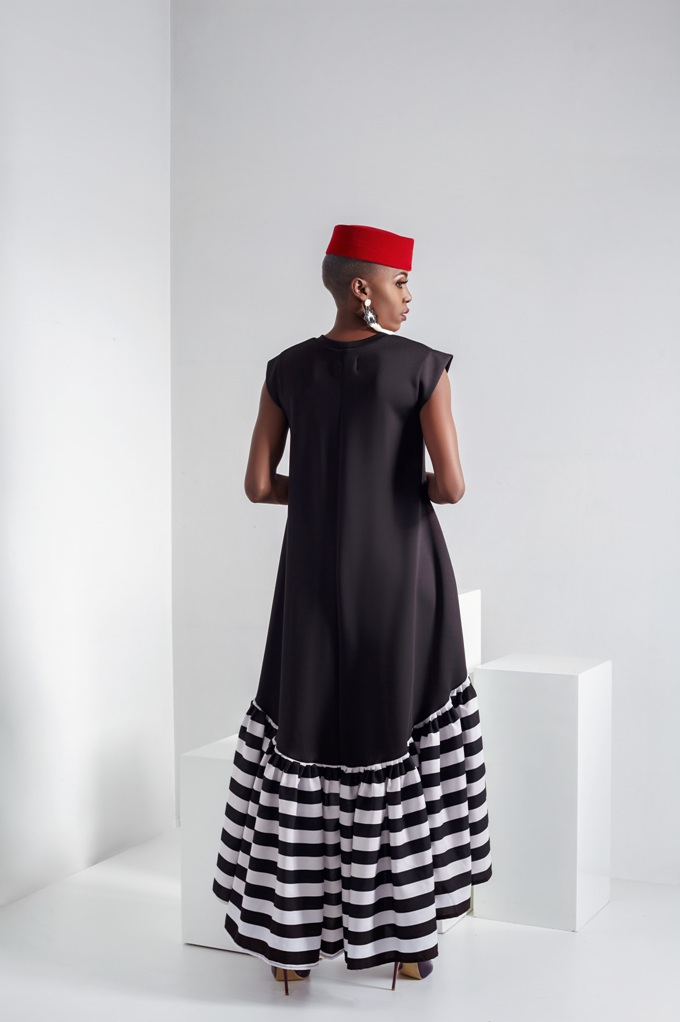 Black and White Mmabatho dress